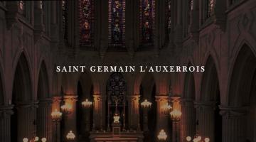 Un film réalisé au drone à l'intérieur de l'eglise St Germain l'Auxerrois située rue du Louvres